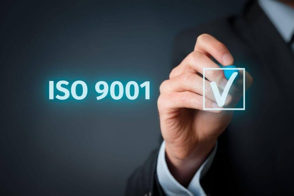 ISO 9001-2015 Qualitätszertifizierung